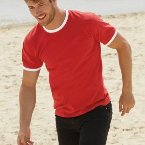Tshirt homme Fruit of the loom SC61168